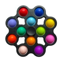 DHL Fidget Toys Fidgets Spinner Antistress Rotation Dimple Sensory Simpl Dimmer Mini Kit giocattolo educativo precoce