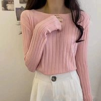 Spring Autumn And Winter Sexy New Bottoming Shirt Women Sweaters Warm top