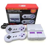 El Mini Retro Video TV Oyun Konsolu NES 8 Bit R30 Eğlence Sistemi 660 Çift Gamepad ile Aile Oyunları Oyuncu
