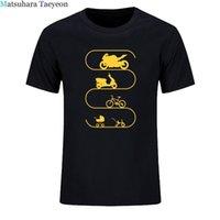 Boys Tee New Fashion Baby-car Bike Bicycle Motorcycle Evolution Tee for Men T-shirt Summer Hip Hop t Shirt Plus Sizechildren's Clothing