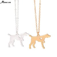 Fashion Gold Silver German Short Haired Pointer Dog Necklace Breed Memorial Pet Lover Gift English lovers