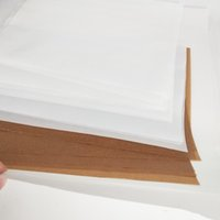 Papeles a prueba de aceite Papel de envoltura de alimentos para pan Sandwich de envoltura Herramientas de hornear antiadherente DAB RIG Seco Herb Vape Pen Tool