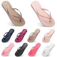 moda chinelos sapatos de praia flip flops y47 mulheres verde amarelo laranja marinho bule branco rosa marrom verão sneaker 35-38