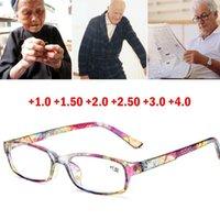 Okuma Gözlükleri Erkekler Moda Şeffaf Lens Plastik Gözlükler Işık Kadınlar Renk Gözlük Presbiyopik Diyoptri Büyüteç Güneş Gözlüğü