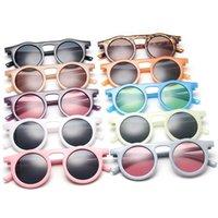 Vintage Round Hommes Sunglasses Brand Designer Jelly Cadre Cadre Eyewear Femmes Mode Shade Extérieur Lunettes de soleil Oculos UV400