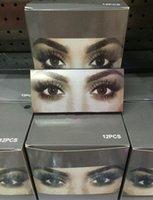 Falska ögonfransar Eyelash Extensions Handgjorda falska ögonfransar Voluminösa falska ögonfransar för ögonfransar Makeup Kyli Kosmetika