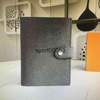 도매 중형 의제 커버 백서 노트북 저널 일기 일기 Jotter Notepad 6 6 신용 카드 홀더 슬롯 R20222 R 2
