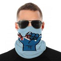 Schals Shaka Australien Flagge Magie Schal Halbes Gesichtsmaske Männer Frauen Mode Tube Hals Bandanas Schutzkopfband Radfahren Wandern