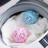 غسل قابلة لإعادة الاستخدام السحر مكافحة لف الملابس الغسيل منتجات الملابس الرفوف سهلة تنظيف كرات إزالة التلوث تقليل RRD6752