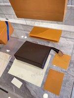 Top Quality Pochette Pochette Viaggio Viaggio Borsa a tracolla Borsa Designer Briefcases Donne da uomo Portafoglio Casette Carta Clutch Crossbody Cosmetic Borse Cosmetici Tasche di Lusso Borsa Rosa