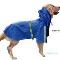 Febhome Yansıtıcı Köpek Yağmurluk Bahar Ve Yaz Yeni Köpek Giysileri Köpek Su Geçirmez Yağmurluk Ucuz Pet Yağmurluk Toptan Fiyat