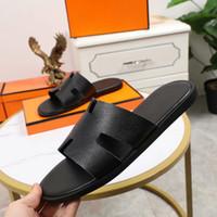 Hermes slippers Zapatillas de hombre estilo europeo sandalias moda hombres zapatos mocasos tamaño grande 38-45