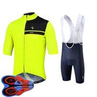 Morvelo Team 2021 Hommes Cyclisme à manches courtes Jersey shorts de berceau Ensemble Vêtements de vélo Vêtements Vélo Vêtements Vélo Uniformes de sport en plein air Sports S21040915