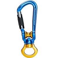 Cordones, eslingas y correas 30KN Polea de escalada Master Lock Dispositivo de rotación Accesorio para colgar para Rock Mountaining Rappelling Rescue
