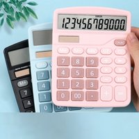 Solar Calculator Student Accounting Cute Macaron Large Female Fashion Creative Exam Special University Science
