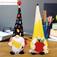 DHL Shipping Teacher Gift Party Supplies Gnomes Back to Apple Pencil Plush Dolls from Students End of The School Year Decor Graduation