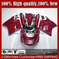 Body Kit für Kawasaki Ninja ZX11R ZZR 1100 ZX-11 R ZZR1100 ZX11 R ZX 11 R 11R 31HC.93 Glossy Red ZX-11R 1990 1991 1992 1993 1993 1995 ZZR-1100 96 97 98 99 00 01 OEM-Verkleidungen