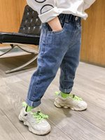 Jeans 2-6T Top Quality Spring Autumn Kids Children Pants Baby Boys Girls Denim Trousers Infant Clothing