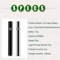 ceramic cart vape pen battery preheating VV mode ecig 510 thread vaporizer 380mah amigo e cigarette bud touch pens variable voltage max 2.7V-3.6V