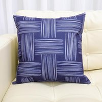 Cushion Decorative Pillow Nordic Geometric Abstract Linen With Core Car Headrest Home Sofa Cushion Backrest Wholesale Custom