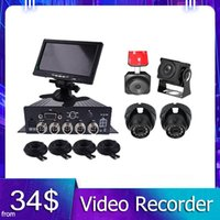 Car Video H.264 4 Channel 1080P Truck MDVR Support 512GB SD Card Storage Mobile DVR Kits