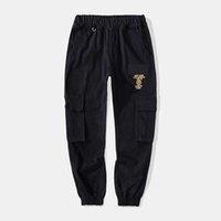 Hip Hop Jogger Cargo Designer Design Design Harem Pantaloni Multi-Pocket Ribbon Astronde da uomo Sweatwear Streetwear Casual M-XL S1