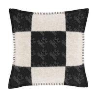 Классические жаккардовые домашние подушки подушки подушки дизайнерская буква сплетенная наволочка домашняя кашемир диван-кровать подушки мягкой шерстяной наволочки