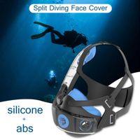Diving Masks Snorkeling Face Cover Full Protector Anti Fog Waterproof Swimming Equipment Anti-Leak Scuba Covers