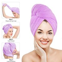 Towel Quick-absorbing Dry Hair Cap Microfiber Quick-drying Shower Turban For