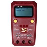Multimeter digitaler Multimeter-Transistor-Tester Megger Isolationswiderstand Induktivitätskapazität ESR-Meter DTU-1701