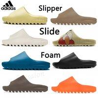 adidas Kanye West yeezy yezzy yeezys Slide Clog Slipper Sandal Foam Runner Triple Black  Fashion Slipper Women Mens Tainers bone 450 Designer Beach Sandals Slip-on Shoes