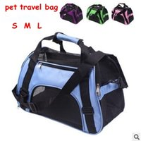 Pet Carrier Portable Pet Backpack Messenger Carrier Bags Cat Dog Carrier Outgoing Travel Teddy Packets Breathable Small Pet Handbag