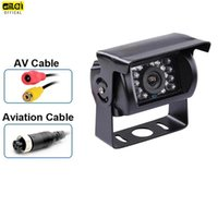 Car Rear View Cameras& Parking Sensors Reverse Camera 4 Pin AV Port IR Night Backup Waterproof For Truck Trailer Pickups RV  Heavy