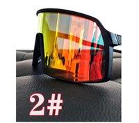 2 takım Adam Tam Çerçeve Bisiklet Güneş Gözlüğü Bisiklet Açık Sürüş Glasse Kılıfı Polarize Bisiklet Gözlükleri ile Anti-Ultraviyole Yüksek Çözünürlüklü Parlama Anti-Parlama Polarize