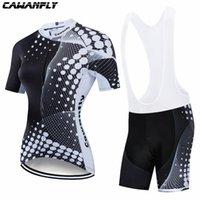 Racing Sets Cawanfly Симпатичные Велоспорт Рубашка Женщины Pro Команда Велосипед Джерси Установить Ropa Ciclismo Mujer Горный Велосипед Одежда