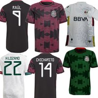 All-Star Edition White Mexico Soccer Jerseys Men Kids Kit H.Lozano Home Black Pink Away Green Dos Santos Chicharito Sports Football Shirt 21 22