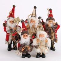 Рождественская елка украшения Санта-Клауса кукла игрушка украшения изысканный для домашнего рождества с новым годом подарок
