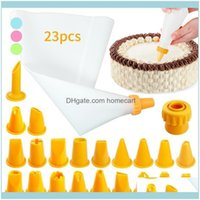 Pastry Bakeware Kitchen, Dining Bar Home & Garden23Pcs Set Bag Decorating Piping Tools Cakes Molds Kitchen Dessert Baking Supplies1 Drop Del