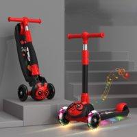 Carrinhos de criança # crianças triciclo triciclo bebê balanço passeio de bicicleta em brinquedos flash dobrável medidor carro criança brinquedo brinquedo
