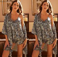 Women's Sleepwear 3PCS Women Pajamas Sets With Pants Ladies Nightgown Bathrobe Sexy Pyjama Homewear Negligee Pyjamas Clothing