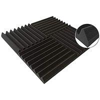 Carpets 24PCS 300x300x25mm Studio Acoustic Foam Sound Proofing Protective Sponge Soundproof Absorption Treatment Panel