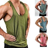 Men's Tank Tops Men Gym Top Muscle Sleeveless Mens Shirt Bodybuilding Tanktop Plus Size Clothing Fitness Workout Vest