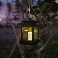 Table Lamps Solar Lights Lantern Yard Decorations Led Light Outdoor Waterproof Garden Hanging Decor