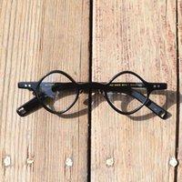 Fashion Sunglasses Frames Vintage High-grade Hand-made Optical Rhombus Men Women Eyeglass For Retro Prescription Reading Glasses Frame