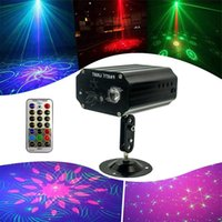 Red and Green Mini Laser Stage Light Stars LED Effects Lighting For Bar Club Party Room Joyful Lights