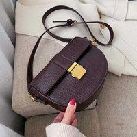 Borsa da sella in pelle HBP PU PU Slowdle Bag per le donne 2020 Designer borse a tracolla di marca Designer femminile Tending Small Crossbody Bag