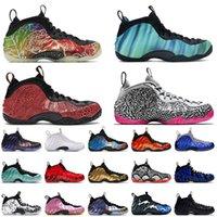 Nike Air Foamposite One en gros hommes Penny Hardaway Basketball Chaussures Mens PRO Eléphant d'extérieur  Sport Royal Sneakers Formateurs Taille 47