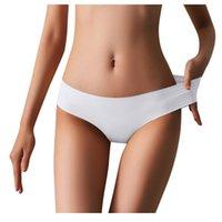 Women's Panties 25# Ice Silk Thong Sexy Women Seamless G String Briefs T Back For Girls Underwear Temptation Ladies Underpants
