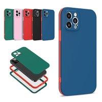 3 en 1 360 Protección completa Cajas de teléfono celular de doble color para iPhone 13 12 11 Pro Max Mini XR XS X 8 7 6 Plus