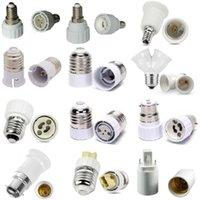 LED Adapter E27 To E14 B22 MR16 GU10 G24 G9 Bulb Holder Converter Socket Bulb Lamp Holder Plug Extender For Lighting